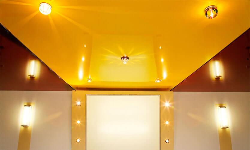 акция от MZ5 натяжной потолок на кухню