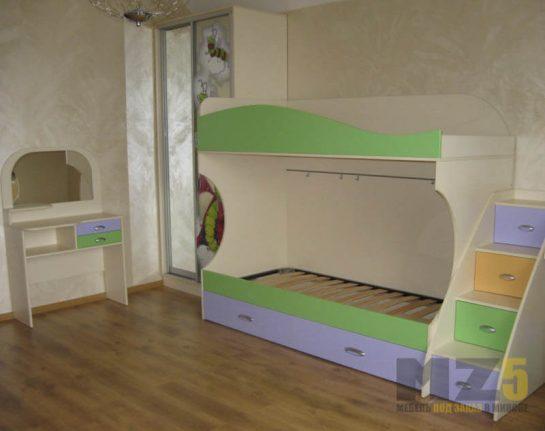 Набор мебели в детскую комнату из ДСП