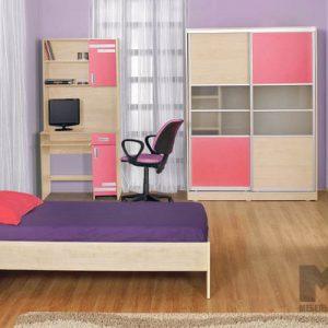 Корпусная мебель в комнату девочки-подростка
