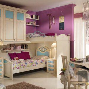Набор мебели в детскую для девочки в стиле прованс