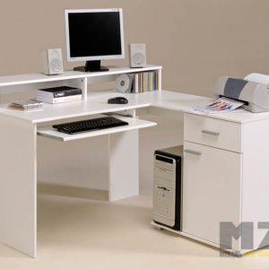 Современный компьютерный стол с нотками минимализма