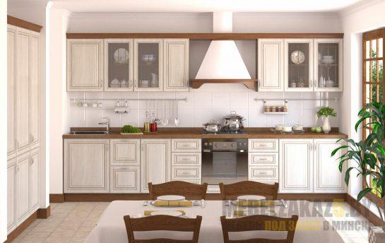 кухня из крашенного МДФ в классическом стиле