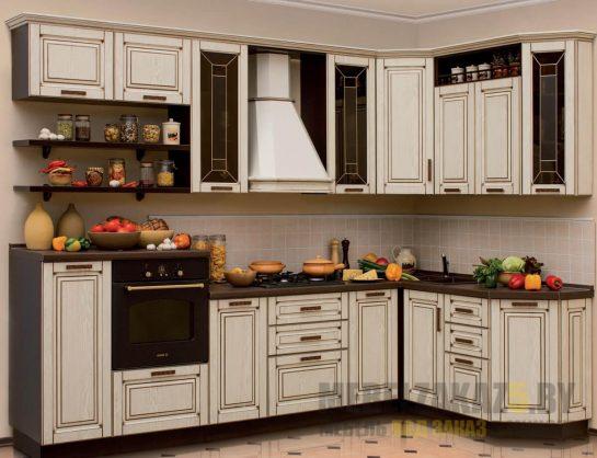Маленькая угловая кухня прованс