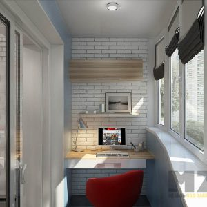 Мебель на балкон в стиле лофт
