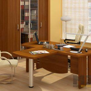 Офисная мебель в кабинет руководителя из МДФ