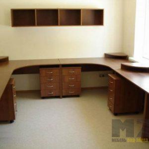 Комплект офисной мебели из МДФ для нескольких сотрудников