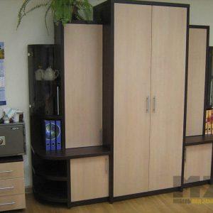 Распашной шкаф из ДСП для офиса