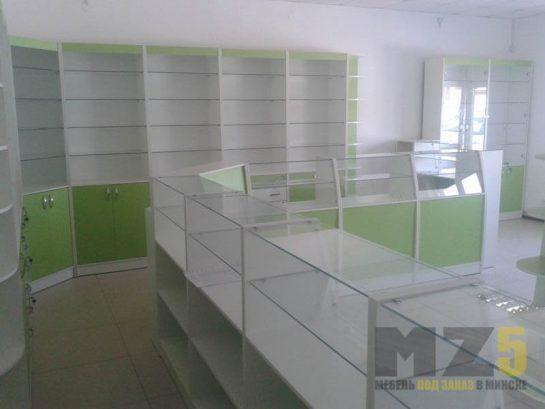 Комплект крашенной торговой мебели для МДФ