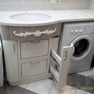 Роскошная классическая тумба под раковину в ванную комнату