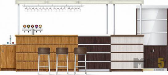 Мебель для ресторанов из комбинированных материалов
