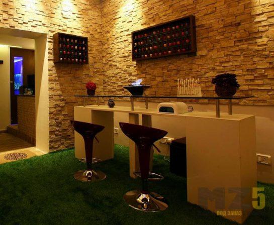 Светлая современная мебель для ресторанов