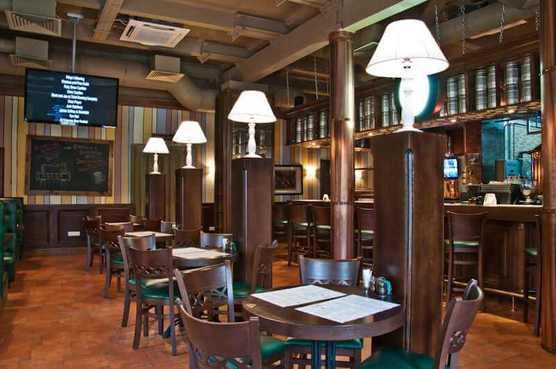 Мебель для ресторанов, кафе и баров под заказ