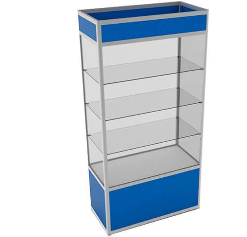 Шкаф=витрина под заказ в Минске