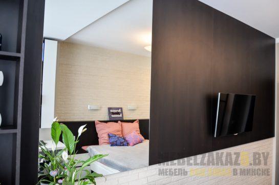 Набор мебели в спальню - мебельная стенка