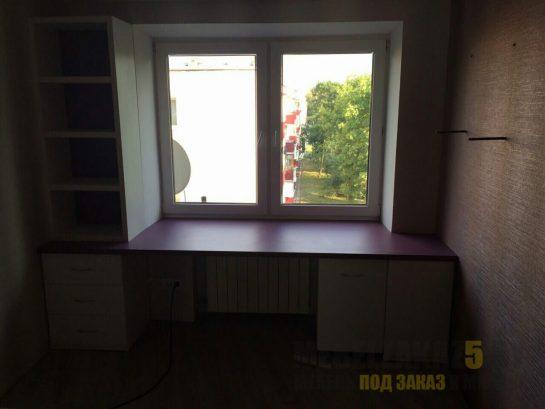 Рабочая зона с письменным столом под заказ