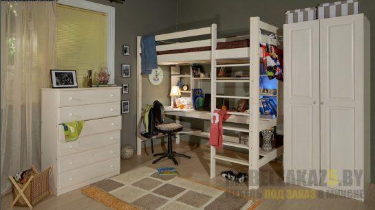 Комплект мебели в детскую с рабочей зоной