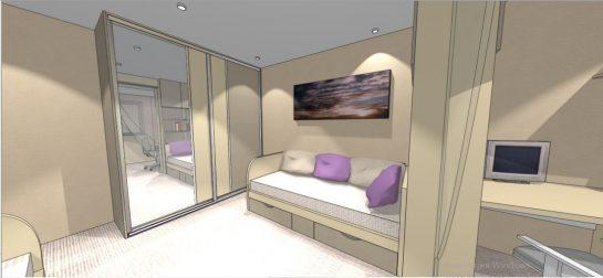 3д дизайн детской комнаты