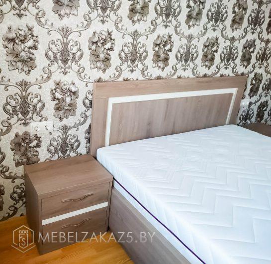 Комплект мебели для спальни в светлых оттенках