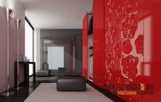 Шкафы-купе с 3д фасадами (фрезерованные фасады )