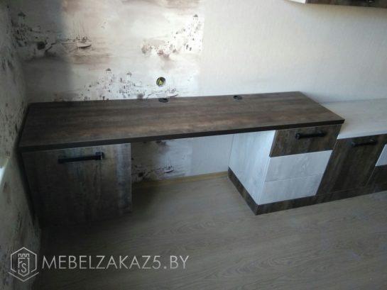 Письменный стол для подростка цвета венге
