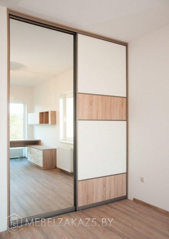 Комбинированный шкаф-купе в подростковую комнату