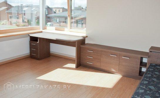 Корпусная мебель для подростка цвета венге