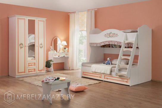 Детская мебель для двоих девочек