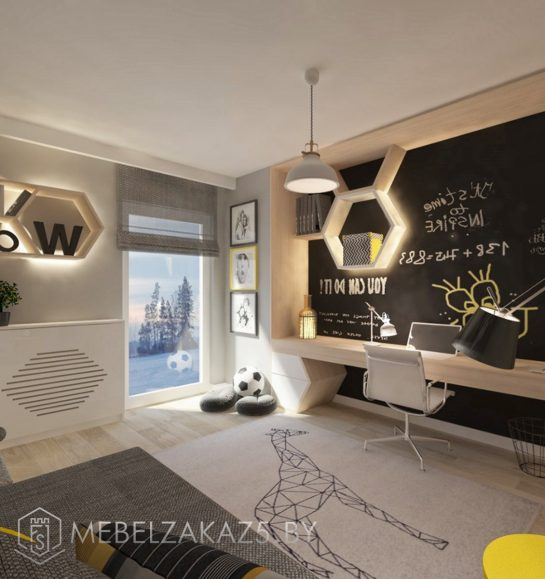 Ультрасовременная мебель в комнату для мальчика-подростка