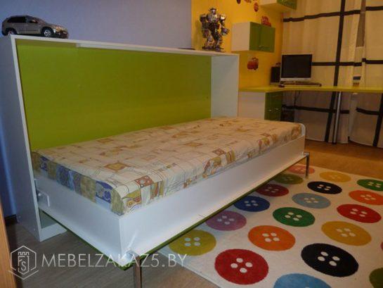 Откидная кровать в детскую для мальчика