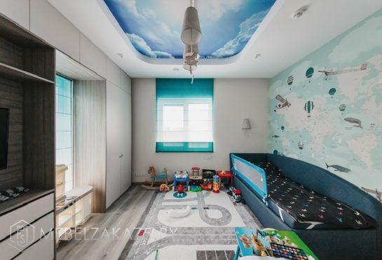 Набор корпусной мебели в морском стиле в комнату для мальчика