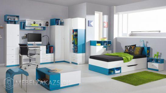 Современный набор детской мебели в комнату мальчика-подростка