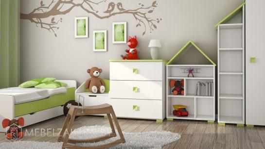 Аккуратная современная мебель для трехлетних детей