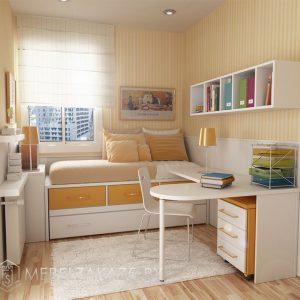 Ультрасовременный набор мебели в комнату для трехлетней девочки