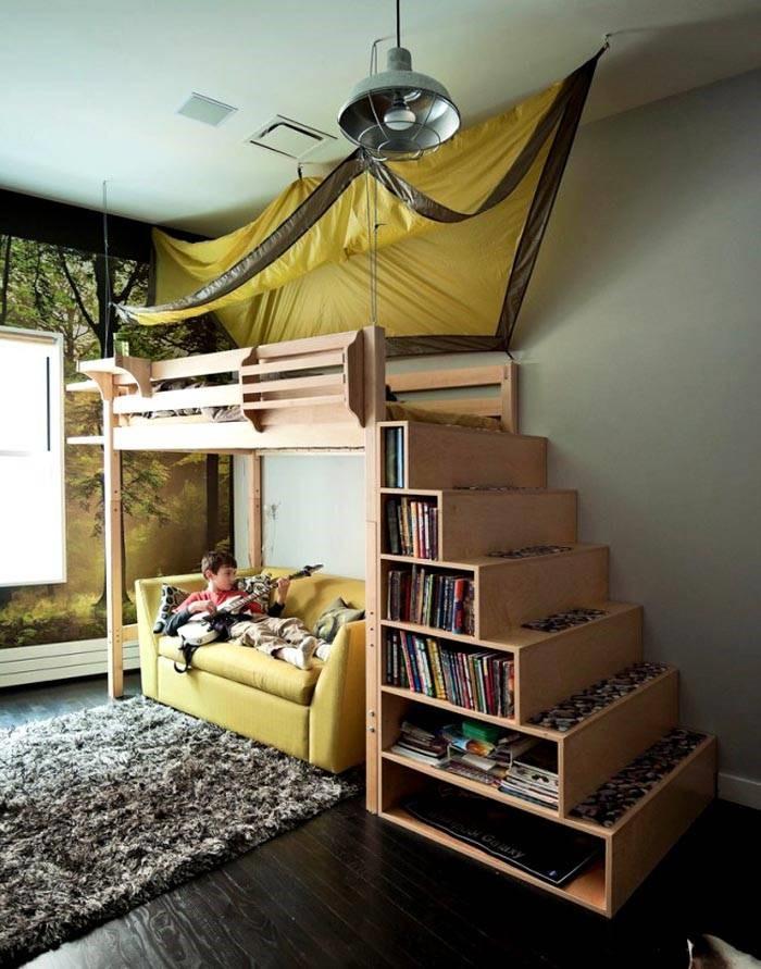 Подростковая кровать-домик