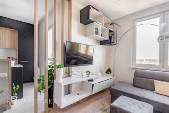 Горка для гостиной в стиле модерн