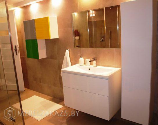 Набор мебели для ванной в современном стиле