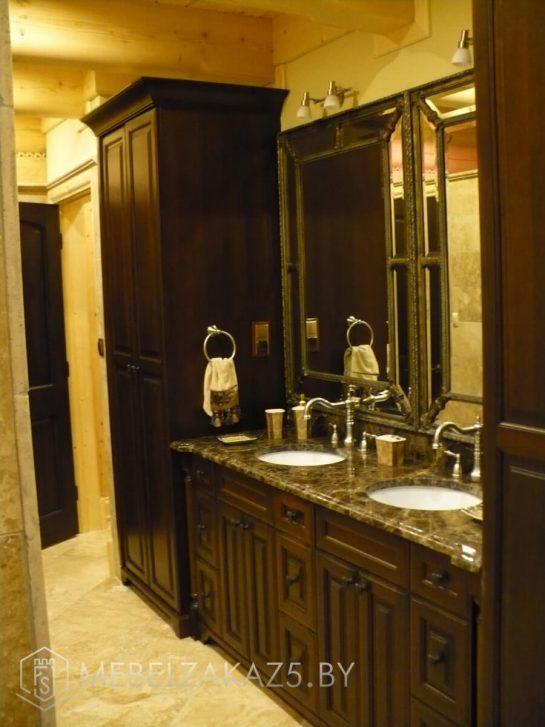 Набор классической мебели в ванную