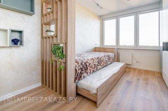 Выдвижная кровать в спальню