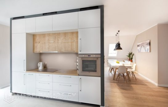 Встроенная кухня из пластика