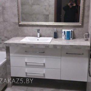 Тумба под раковину в ванную в современном стиле