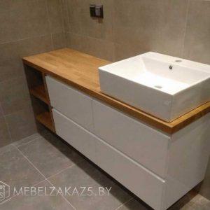 Скандинавская тумба под раковину для ванной