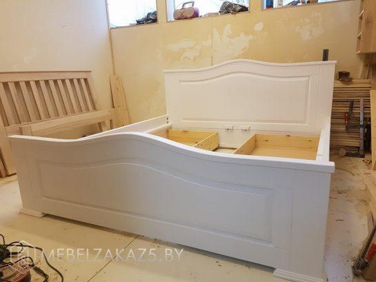 Кровать из мдф с изголовьем