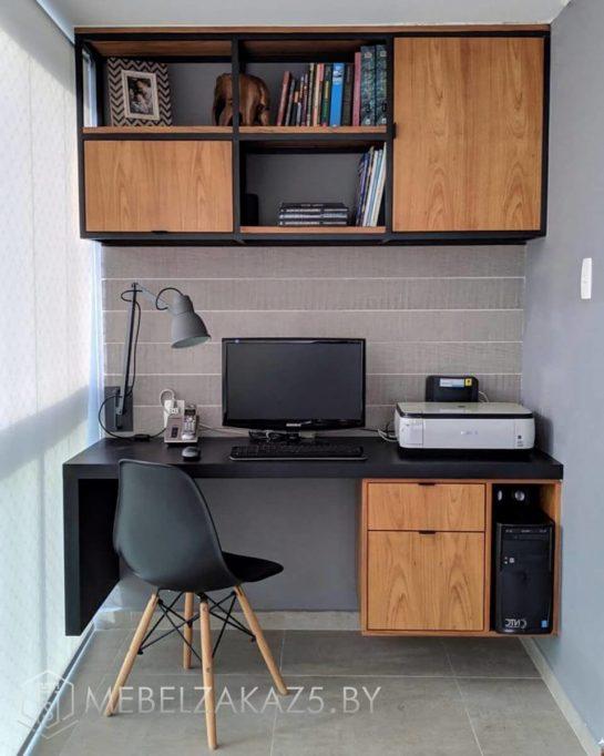 Подвесной компьютерный стол