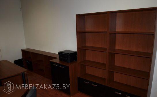 Офисная мебель цвета венге