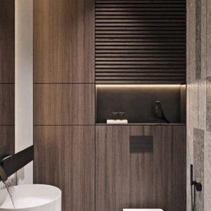 Встроенный шкаф для туалета