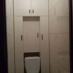 Шкаф-пенал для туалета