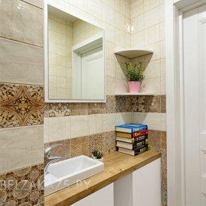 Белая тумба под раковину в ванную