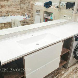 Современная тумба под раковину в ванную