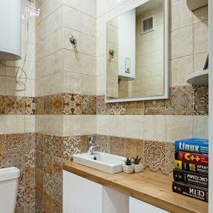 Мебель для ванной в скандинавском стиле