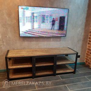 Тумба под телевизор лофт